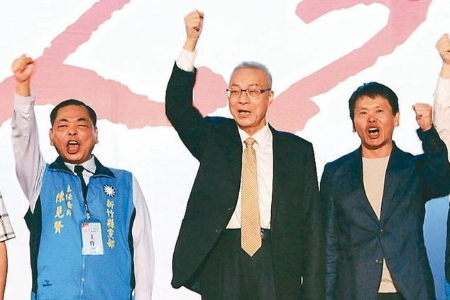 國民黨此次新竹縣長提名,除了林為洲(右)外,表態參選的,還有基層實力雄厚的副議長...