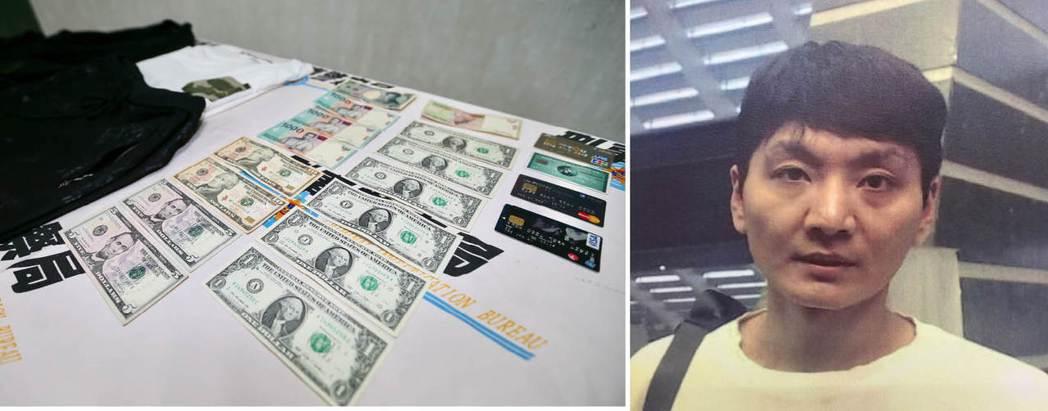 涉嫌行竊民進黨黨部的34歲南韓籍男子趙準基(cho-junki),偷走9萬現金後...