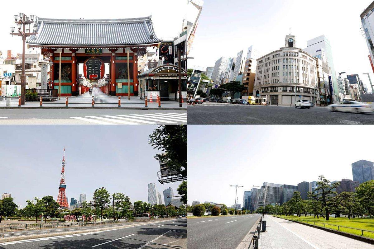 日本公布東京奧運馬拉松路線。 擷圖自Japan Today News推特