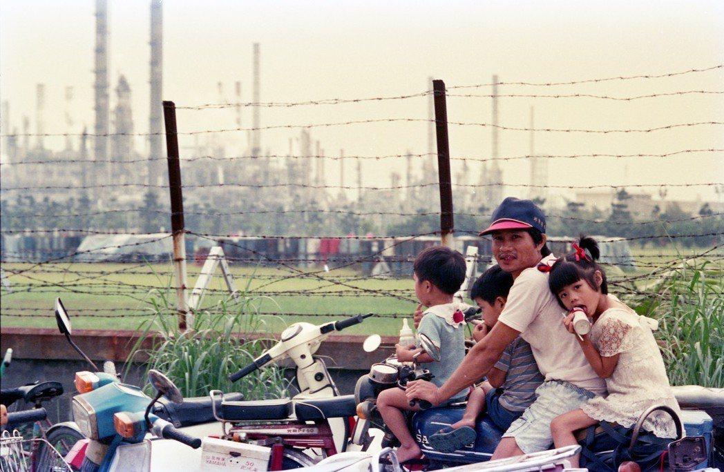 圖為1988年的仁大工業區。 圖/聯合報系資料照