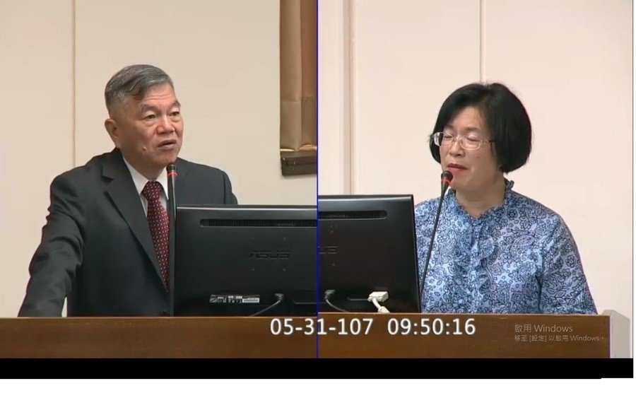圖說:國民黨籍立委王惠美說,常跳電就是應變遲緩,報告指出台灣低備載的狀況還要持續...