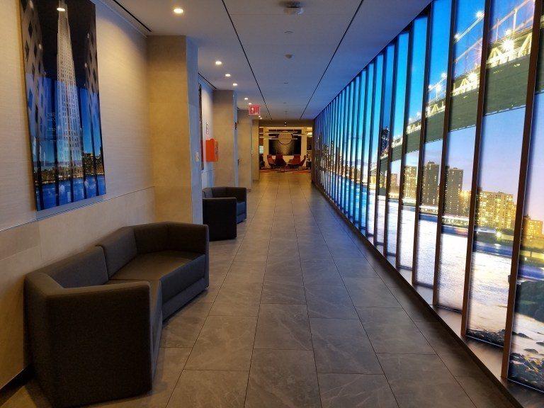 進門之後,有一個長長的走廊 圖文來自於:TripPlus