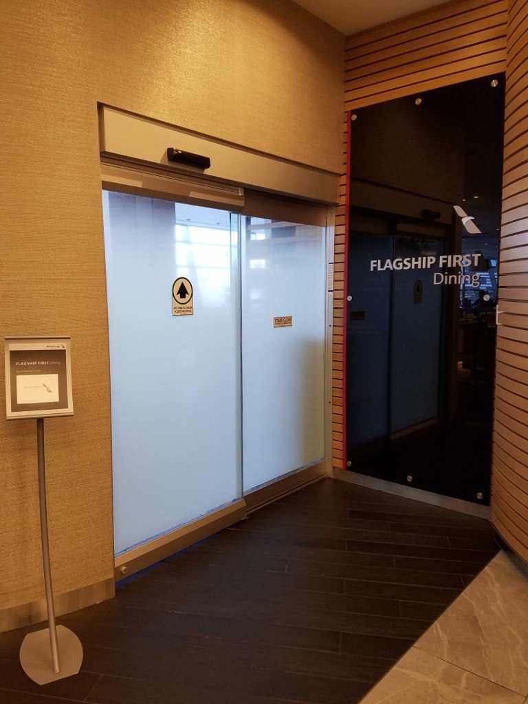 頭等艙乘客專屬用餐區入口 圖文來自於:TripPlus