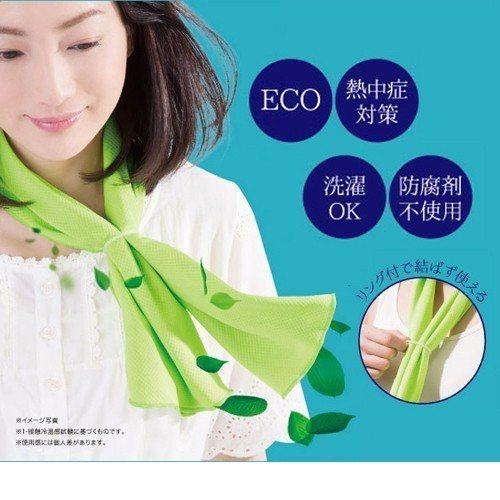 日本 SUNFAMILY 瞬間降溫冷感涼巾(共2色),僅需299元,圖由廠商提供...