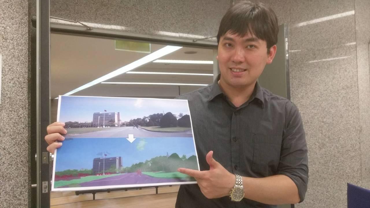 清華大學資工系助理教授李濬屹帶領學生團隊打造出新一代的「NVISION II 智...
