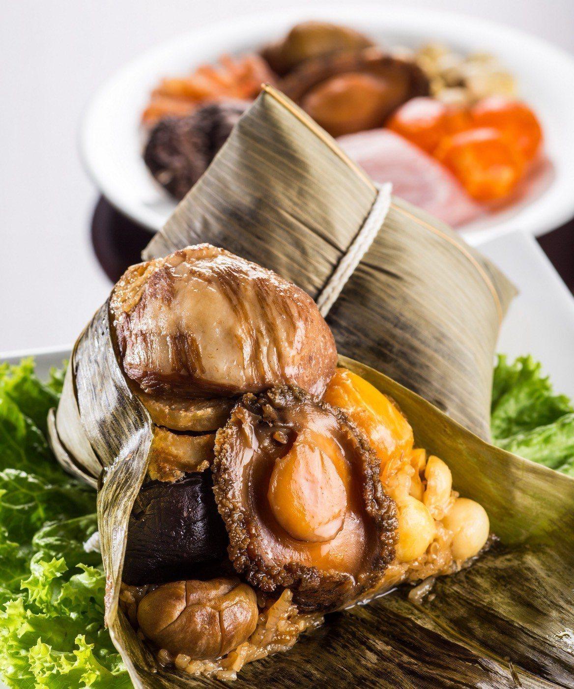晶華冠軍鮑魚粽。圖/遠東百貨提供