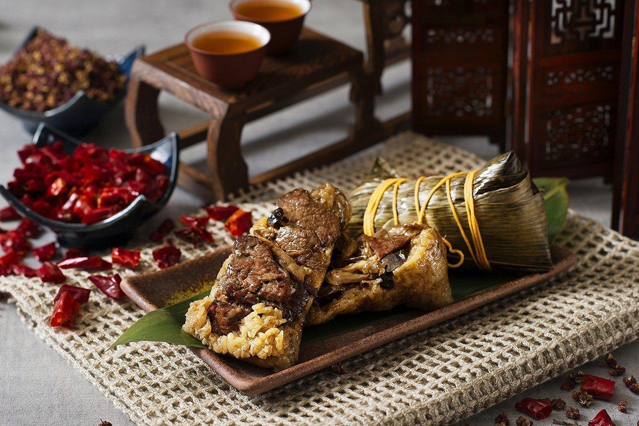 台北遠東水煮牛肉粽。圖/遠東百貨提供