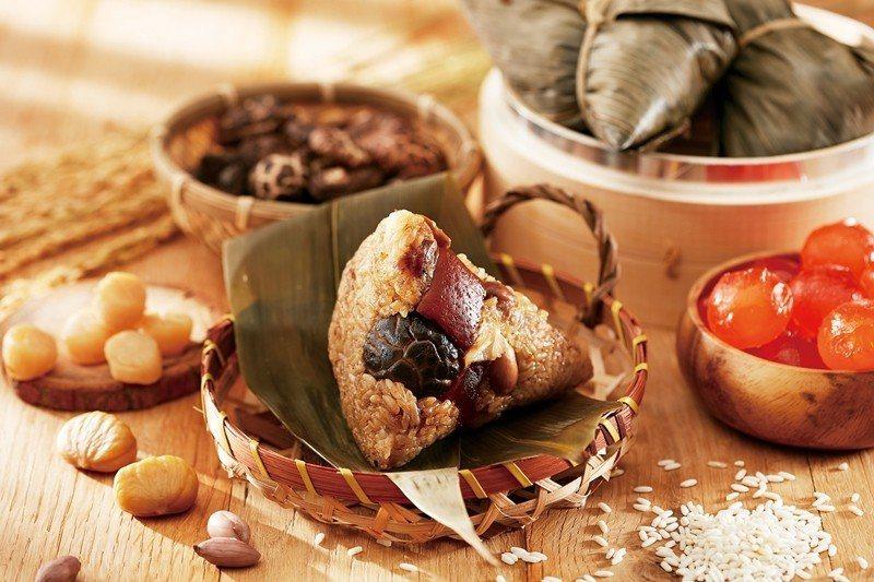 寒舍台式肉粽。圖/遠東百貨提供