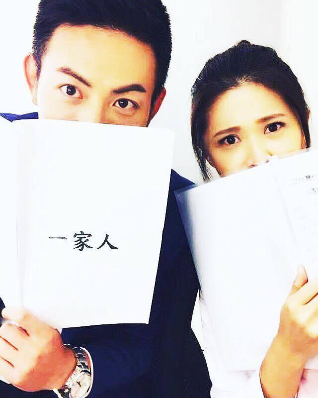 趙駿亞(左)目前和李燕交往  圖/摘自臉書