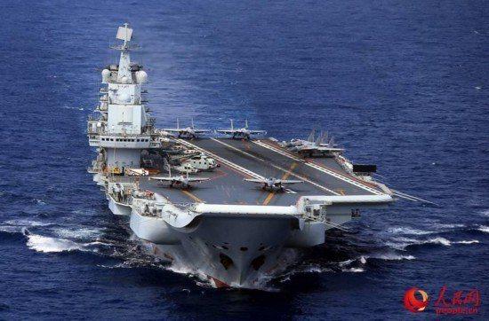 中共國防部:遼寧艦初步具備體系作戰能力