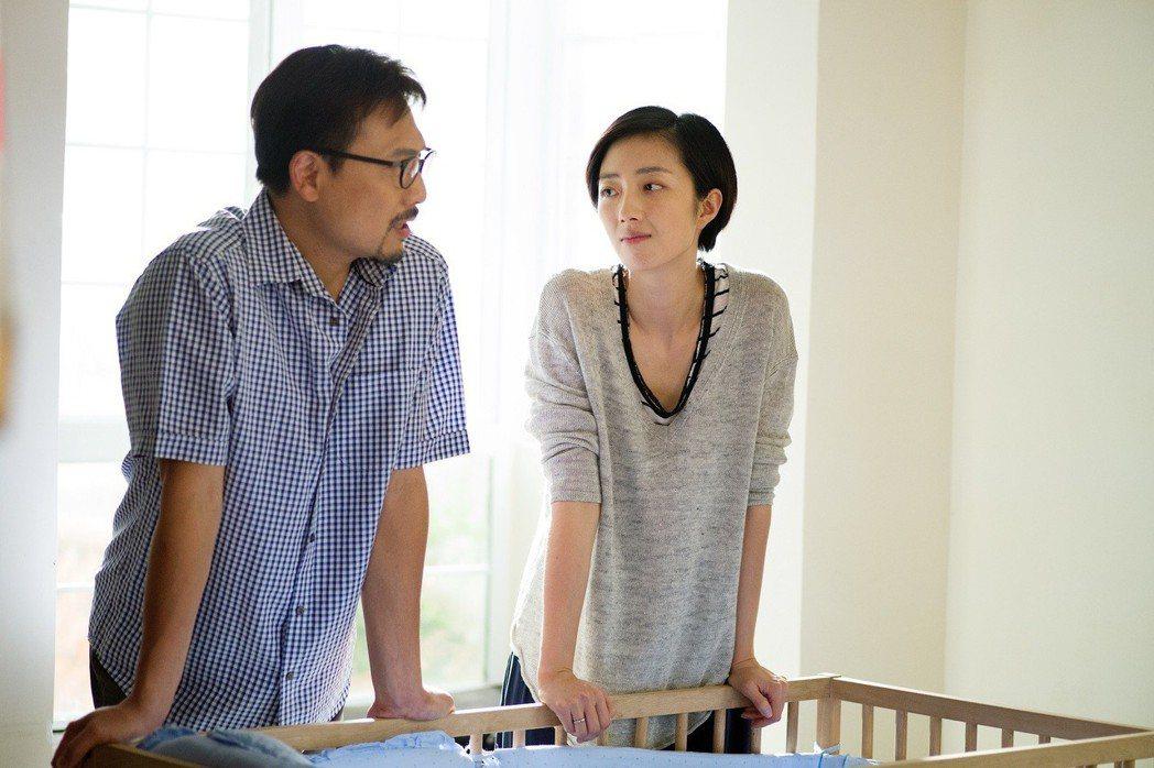 桂綸鎂在「東方華爾街」戲雖不多卻搶眼。圖/FOX提供