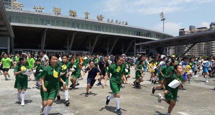 新竹定向越野積分賽吸引破千參賽者參與。 圖/新竹縣體育會定向越野委員會提供