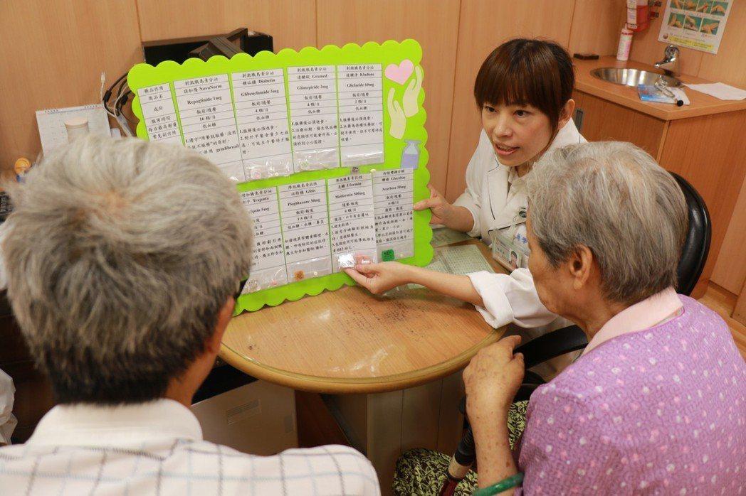 台中慈濟醫院5月起推出免費的「藥師門診」,一周3個門診,實施一個月以來,平均一診...