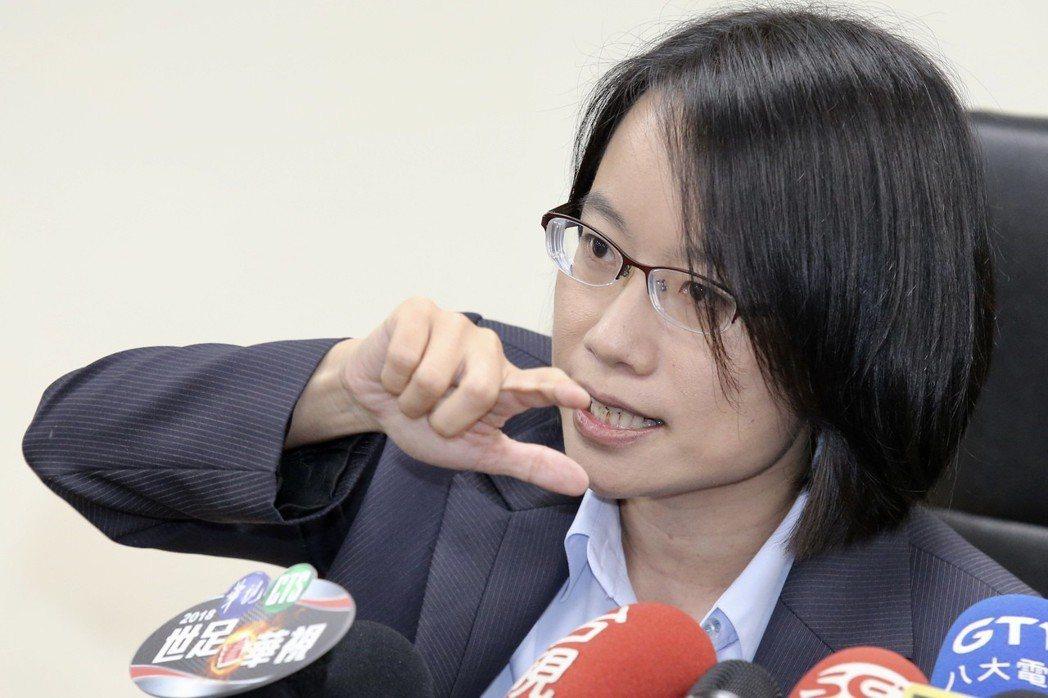 台北農產運銷公司總經理吳音寧。 聯合報系資料照片/記者林伯東攝影
