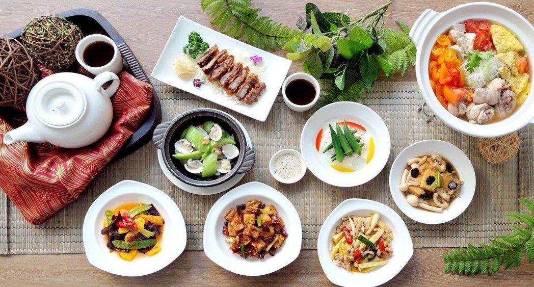 台南大飯店「食選任意點」6月1日起推出的新菜。  台南大飯店 提供