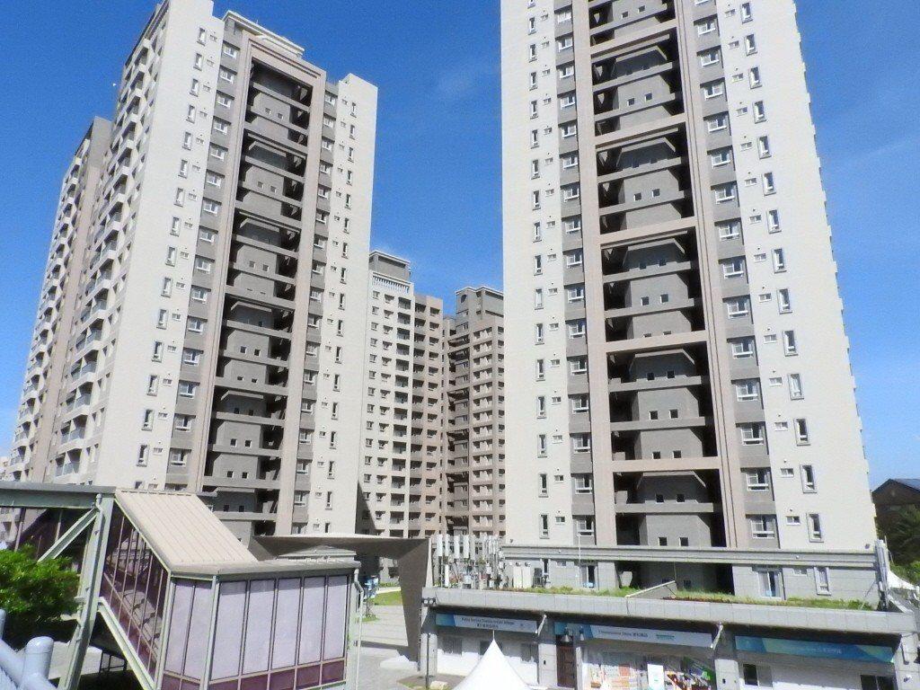 林口世大運選手村轉作社會住宅,今天起公告招租2500戶。 聯合報系資料照