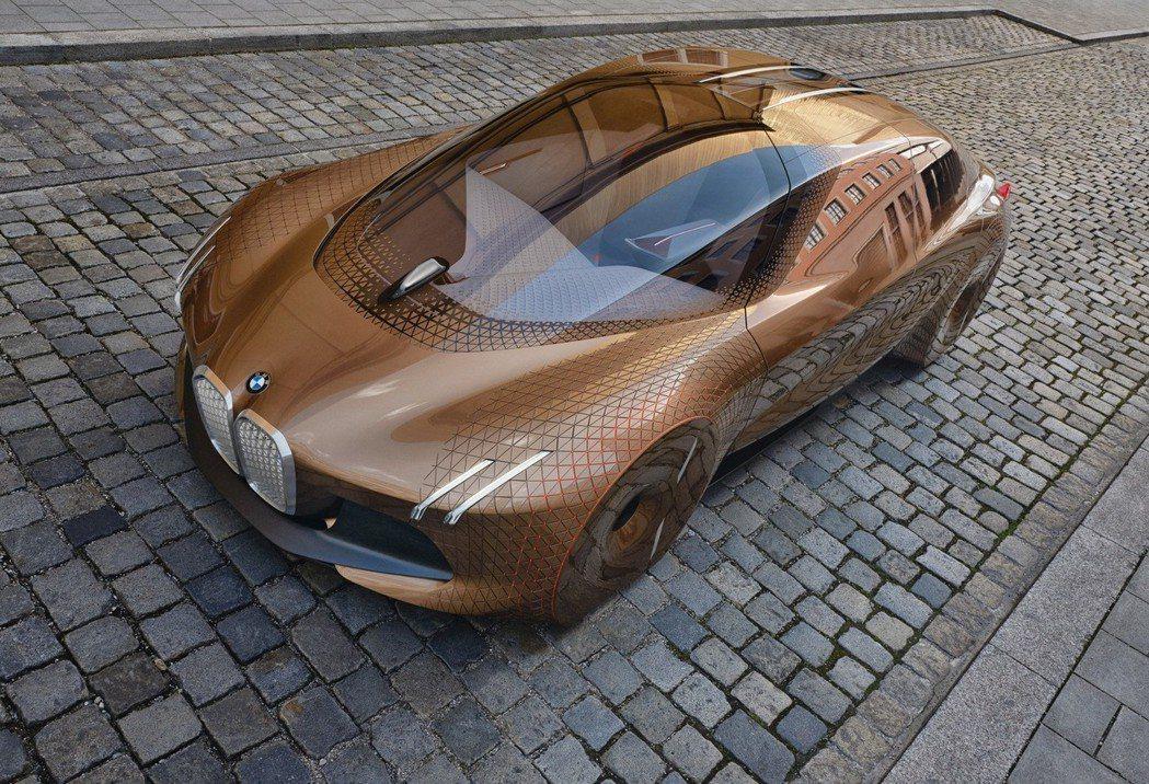 圖為BMW Vision Next 100 Concept。 摘自BMW