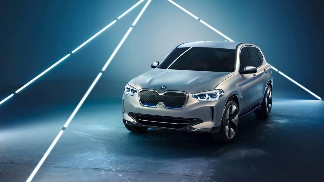BMW Concept iX3預計會在2020年量產問世,並將於中國大陸製造,再輸入至美國與歐洲市場。 摘自BMW