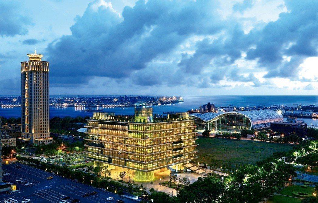 百立海洋帝寶位於亞洲新灣區核心地段。 圖片提供/百立建設