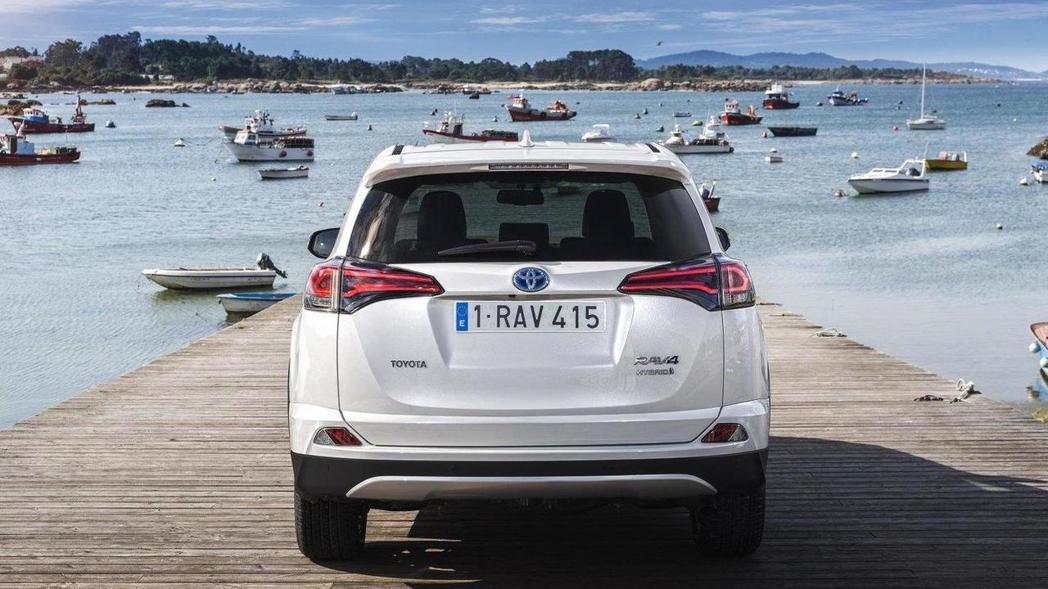 圖為第四代Toyota RAV4 Hybrid車型。 摘自Toyota