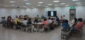 視障朋友參與iPhone手機課程