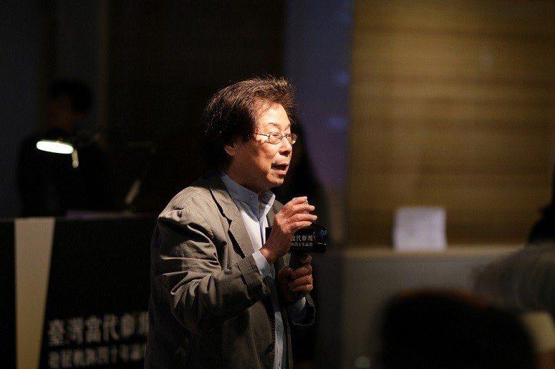 論壇的首日,以蘭陵劇坊推手吳靜吉的專題演講開場。 (國家文化藝術基金會/提供)
