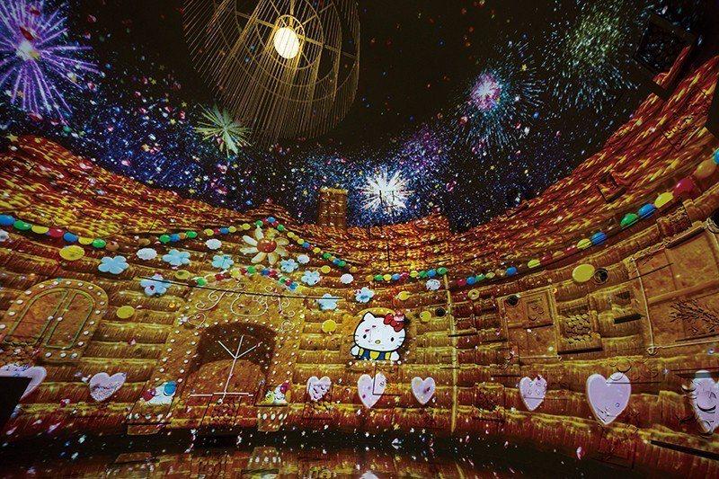 直徑14公尺的圓頂建築內,便是夢幻的THEATER,以高科技的3D投影技術,上演...
