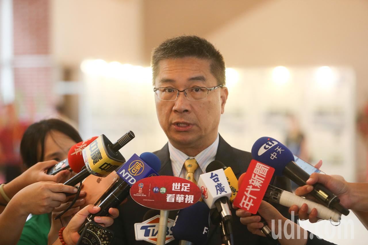 行政院發言人徐國勇針對近一個月頻傳的命案,他認為都是零星個案。記者黃仲裕/攝影