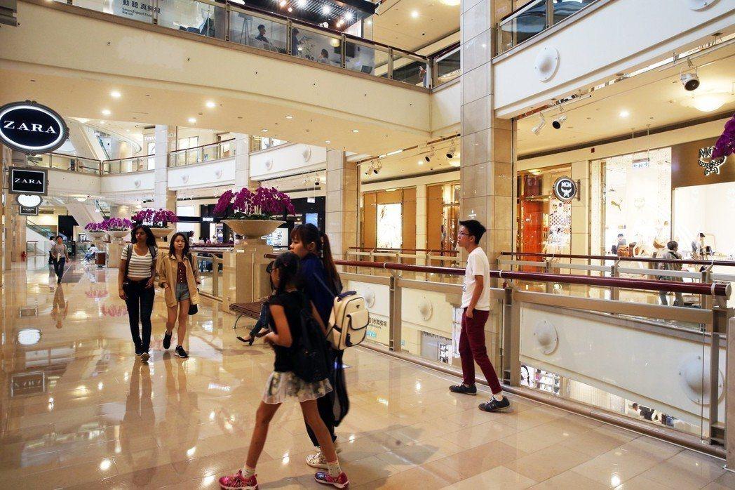 台北101購物中心已恢復供電。記者徐兆玄/攝影