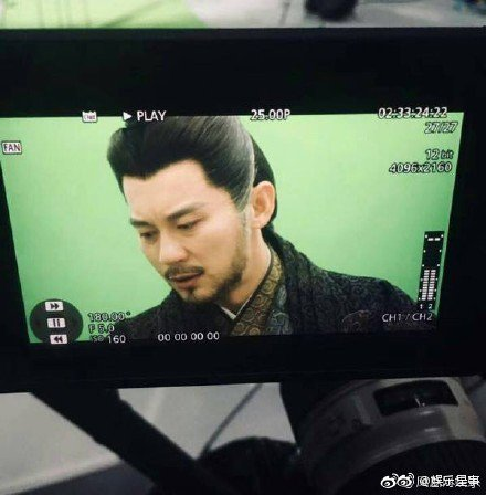 網友爆料李晨重演「巴清傳」中高雲翔角色。圖/摘自微博