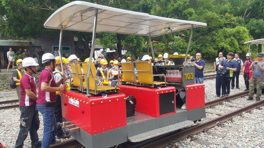 舊山線Rail Bike軌道自行車將從15日進行為期6周的試運轉,7月1日起優先...