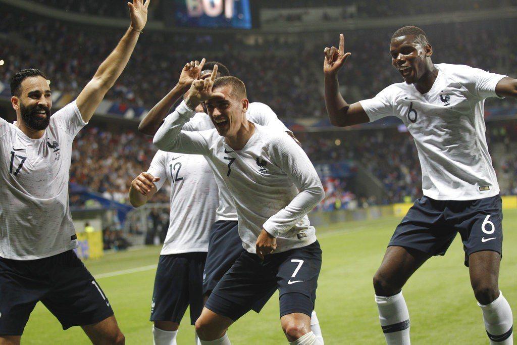 法國2日熱身賽再拿未奪下世足會內賽門票的義大利開刀,3:1輕取「藍衫軍」。 美聯...