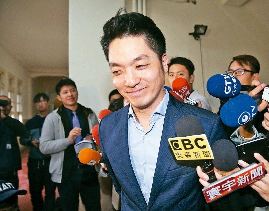 蔣萬安一月時宣布不參選台北市長,投下震撼彈。 圖/聯合報系資料照片