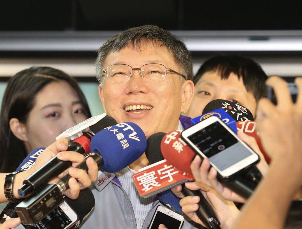 洪耀福預言這次柯文哲若當選,會變成台灣最大尾。 圖/聯合報系資料照片