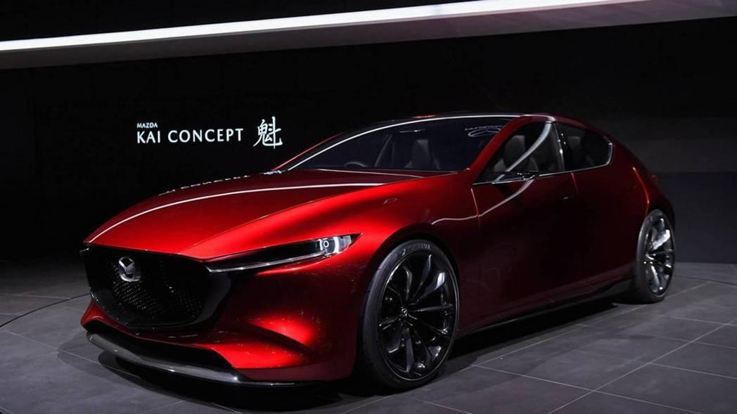 Mazda Kai Concept。 摘自Motor 1