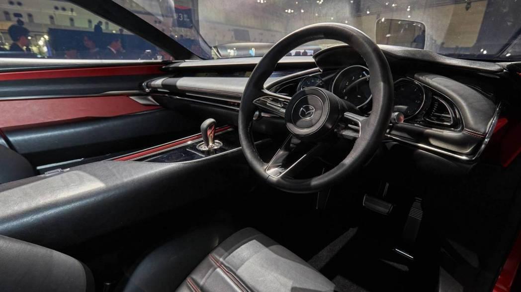 Mazda Kai Concept 內裝。 摘自Motor 1
