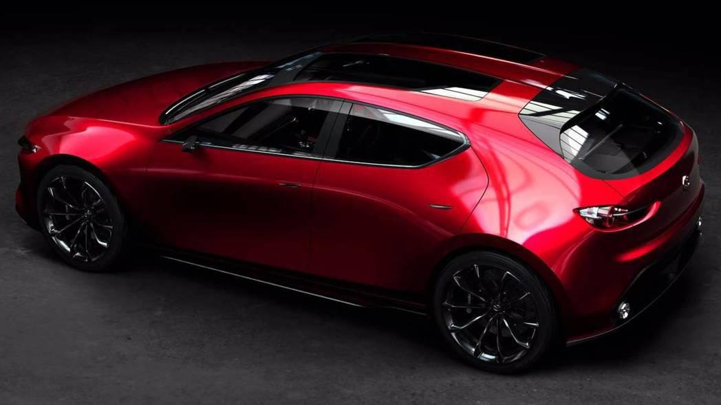 Mazda Kai Concept。 摘自Mazda