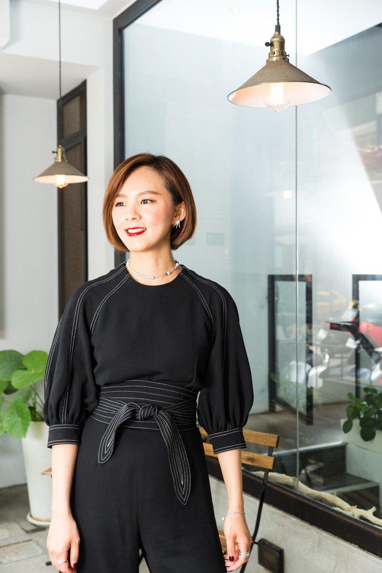 凱特王面對網紅世代,人生歷練就是她儲備的能量與資產。圖/記者陳立凱攝影