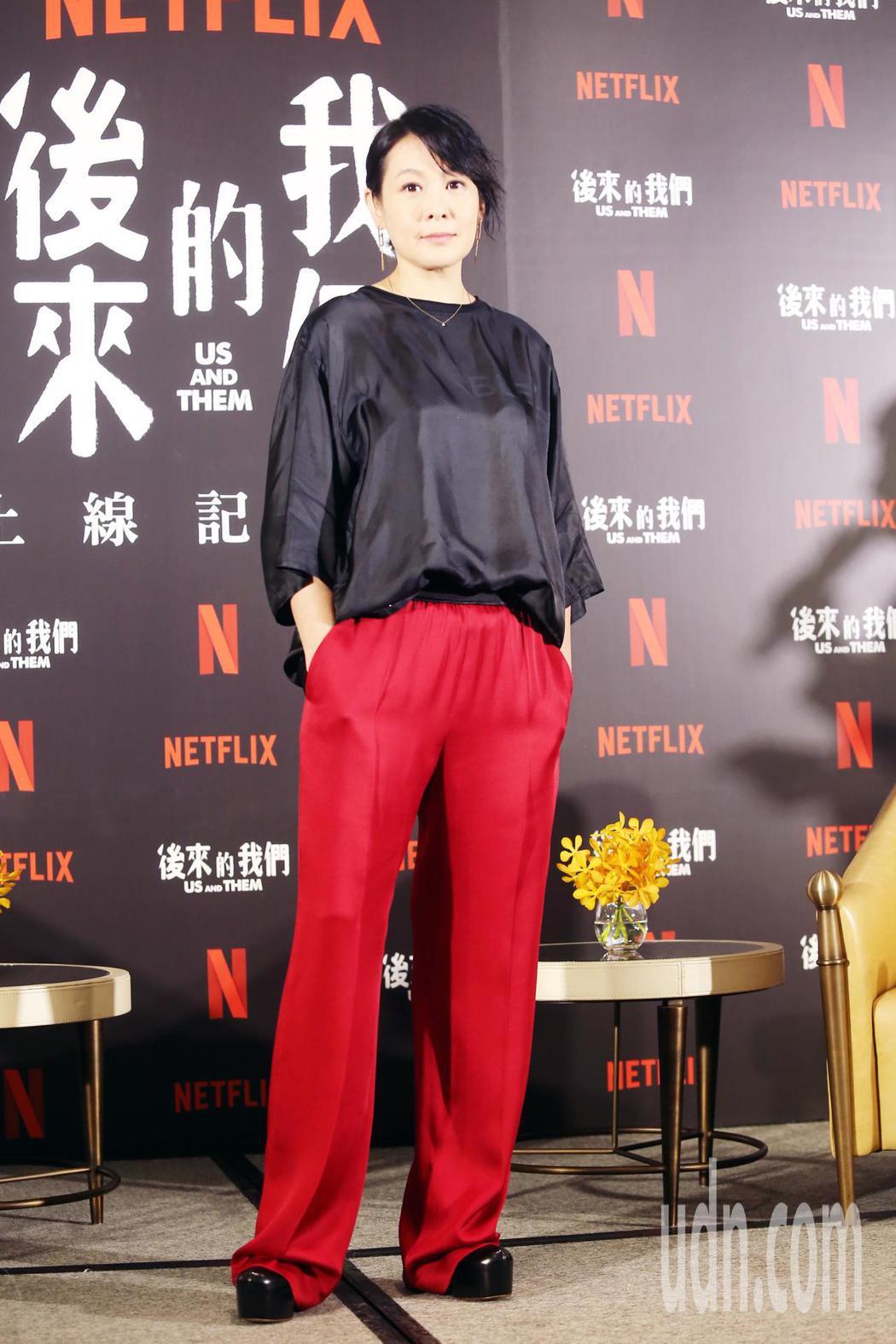 劉若英已擠身最賣座的華語電影女導演。記者徐兆玄/攝影