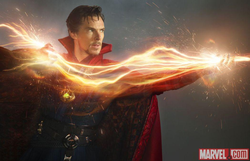班奈狄克康柏拜區在「奇異博士」扮演具有超能力的英雄。圖/摘自imdb