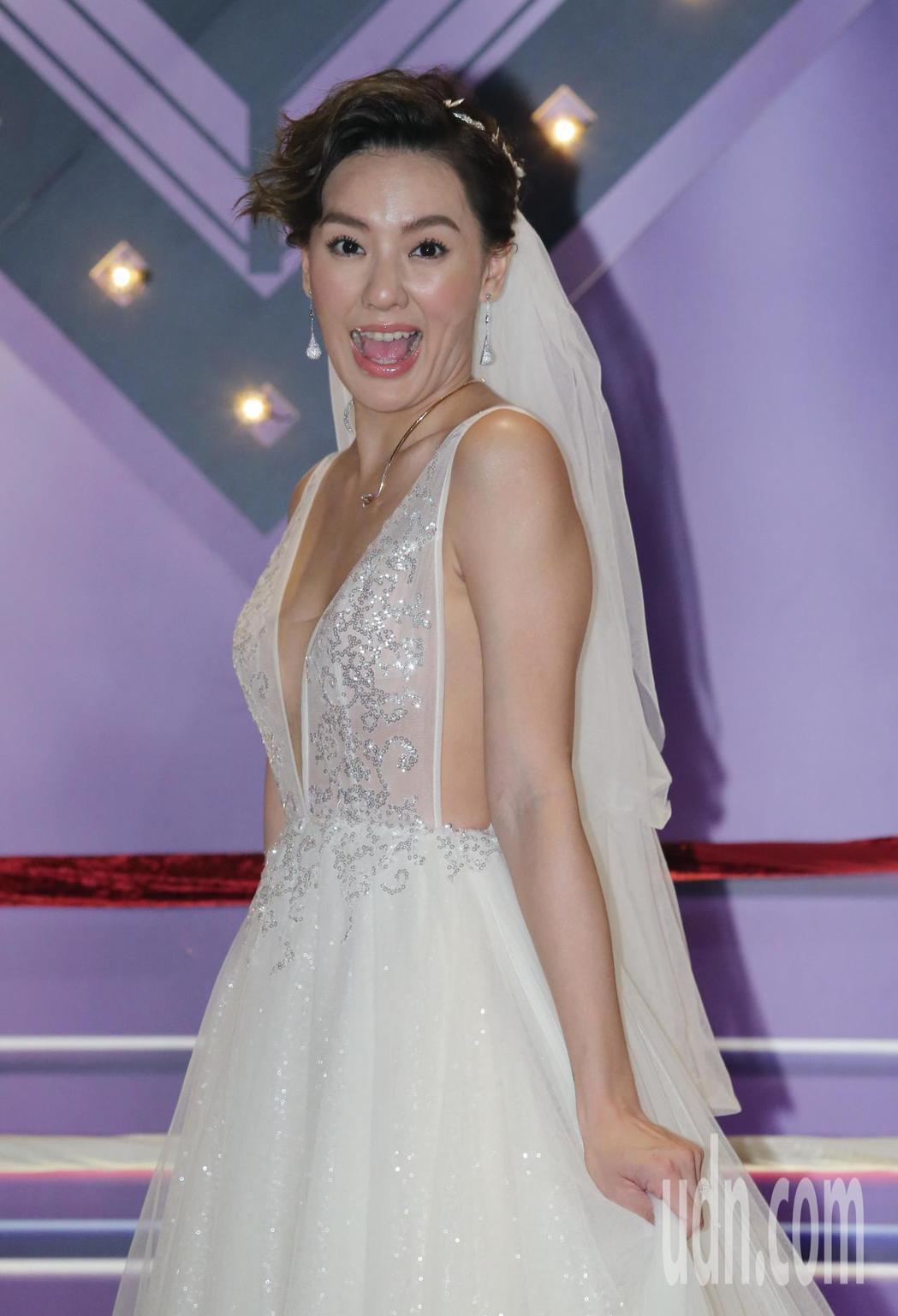 藝人劉雨柔舉辦婚禮。記者許正宏/攝影