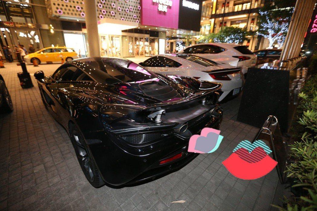 黑人愛車傷後復出。記者許正宏/攝影