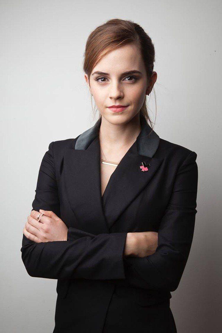 艾瑪華森力挺女權,還曾在聯合國上發表演說。圖/摘自臉書