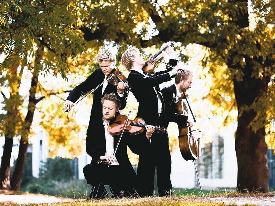 丹麥弦樂四重奏。 誠品/提供