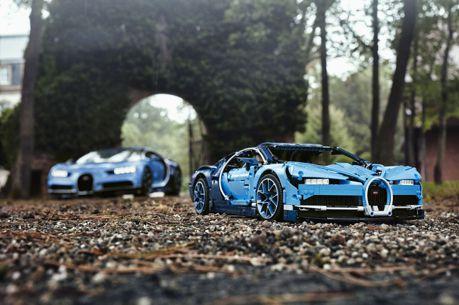 想不到吧!樂高超跑再一彈Bugatti Chiron 這就是我要的山豬