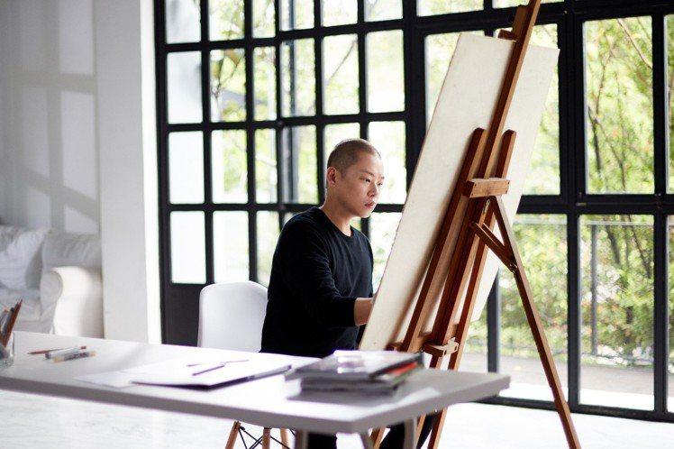 Jason Wu吳季剛手繪Edie托特包。圖/ZALORA提供