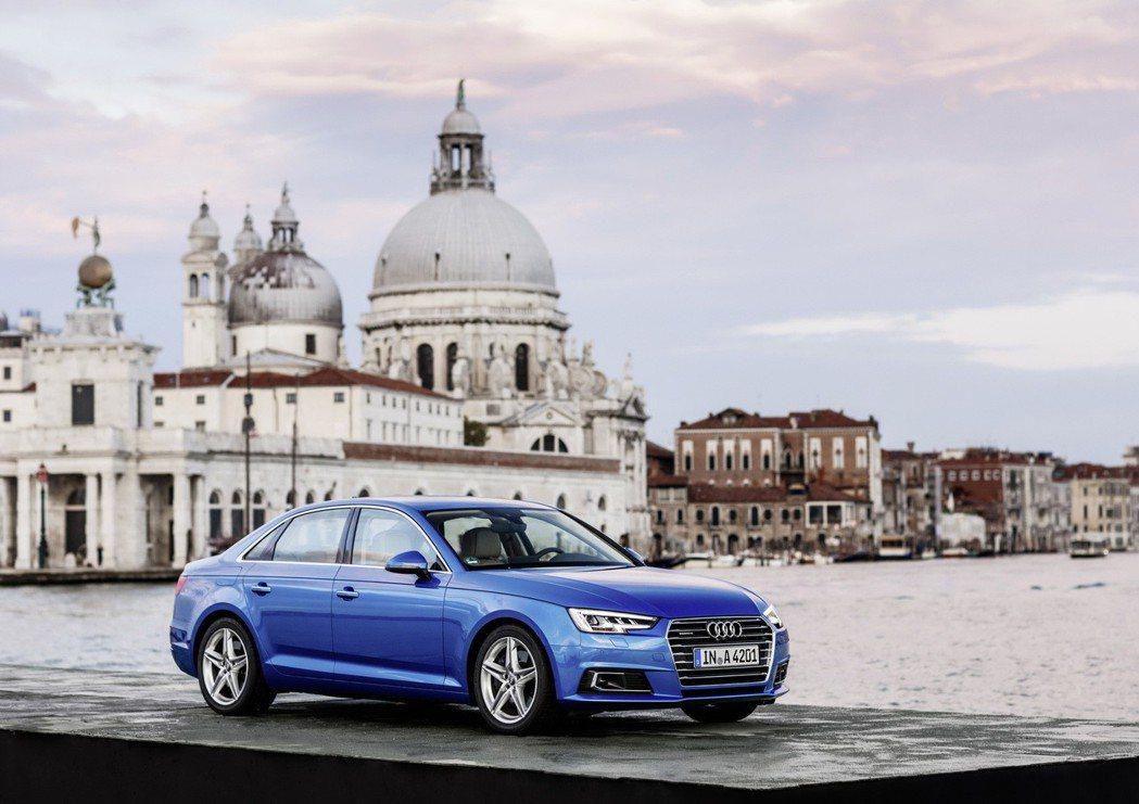 台灣奧迪針對Audi A4 、Audi A5全車系推出「Audi 未來晉紳專案」...