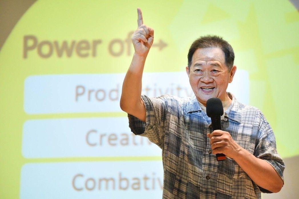 台大政治系教授李錫錕。 圖/聯合報系資料照片
