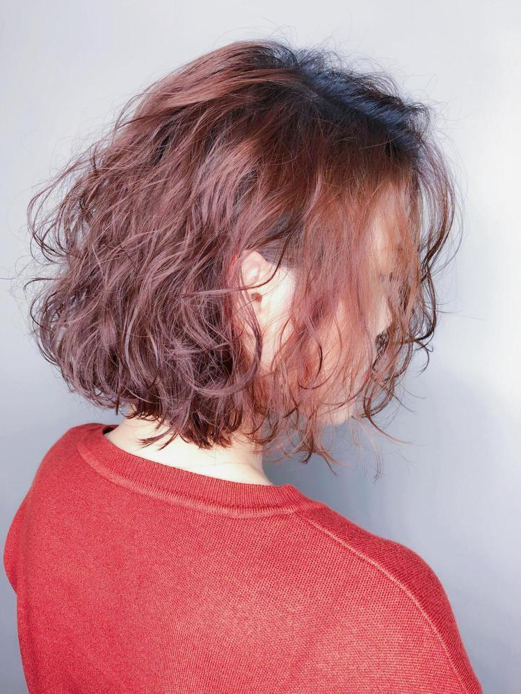 髮型創作/趙尹澤。圖/StyleMap提供