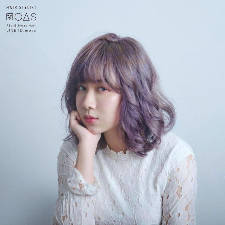 髮型創作/Noya湘蓉。圖/StyleMap提供